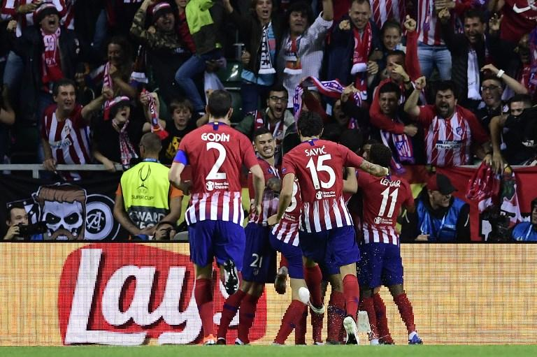 Supercoppa Europea: poker Atletico, Real ko