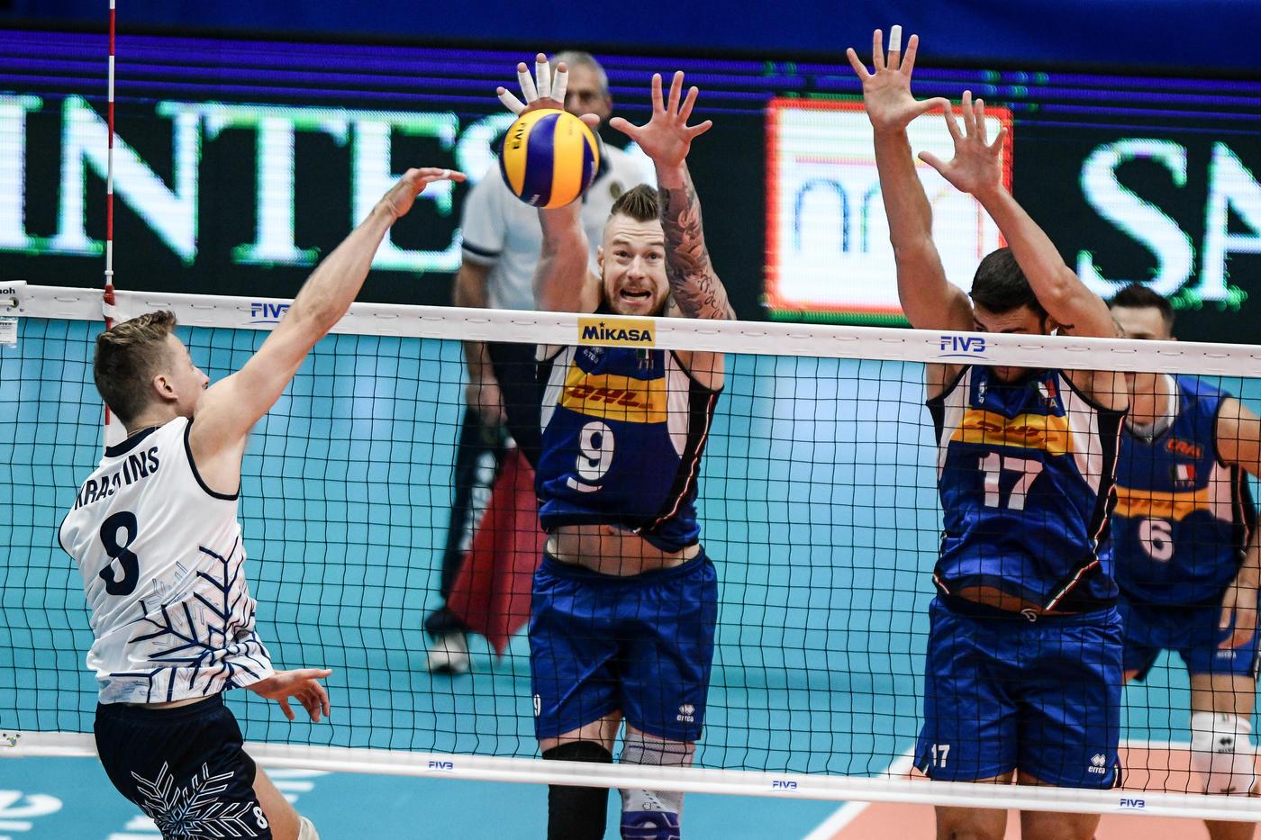 Mondiali volley, l'Italia non si ferma: battuta la Finlandia