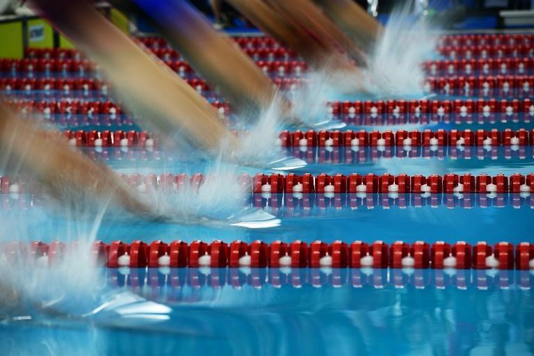 La gara dei 400 metri stile libero ai Giochi Asiatici (22 agosto)