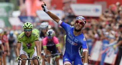 Vuelta 2014, 8a tappa: Bouhanni brucia tutti e fa bis