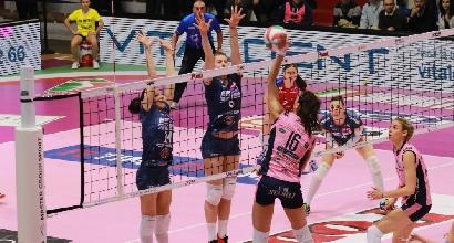 Volley, A1 femminile: Pomì e Imoco vincono e restano prime