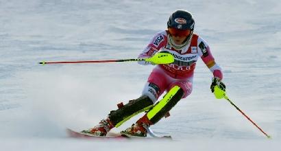 Sci, slalom Sestriere: Shiffrin implacabile, azzurre in calo
