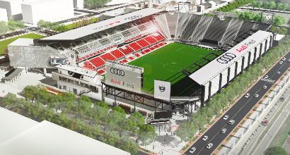 MLS, Thohir presenta l'Audi Field: il nuovo stadio dei Dc United