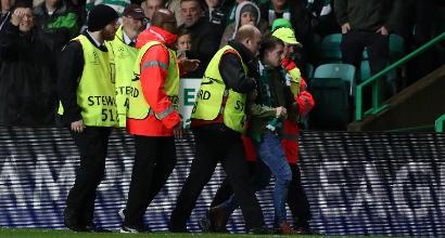 Champions League, invasione di campo a Celtic Park: procedimento Uefa