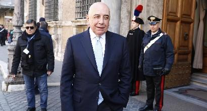 Galliani tifa Roma:
