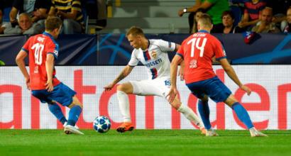 Champions League, gruppo G: pari sul gong del Cska, il Viktoria Plzen spreca il doppio vantaggio