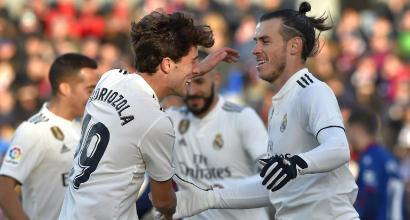 Real Madrid, che fatica con l'Huesca: Solari ringrazia Bale