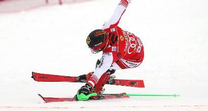 Cdm sci, Hirscher vince a Saalbach