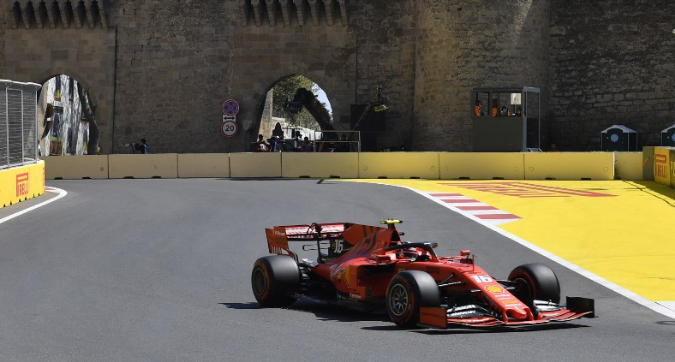F1, dominio Ferrari in FP3