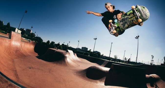 5 skatepark, una sola linea