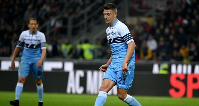 Lazio, 'like' di Milinkovic-Savic alla nuova maglia del Psg