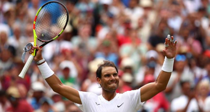 Tennis, Wimbledon: Nadal e Djokovic di forza ai quarti, demoliti Sousa e Humbert