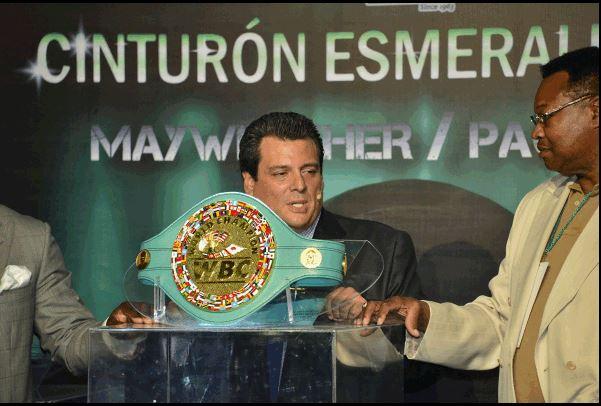 Mayweather-Pacquiao, la cintura vale un milione di dollari