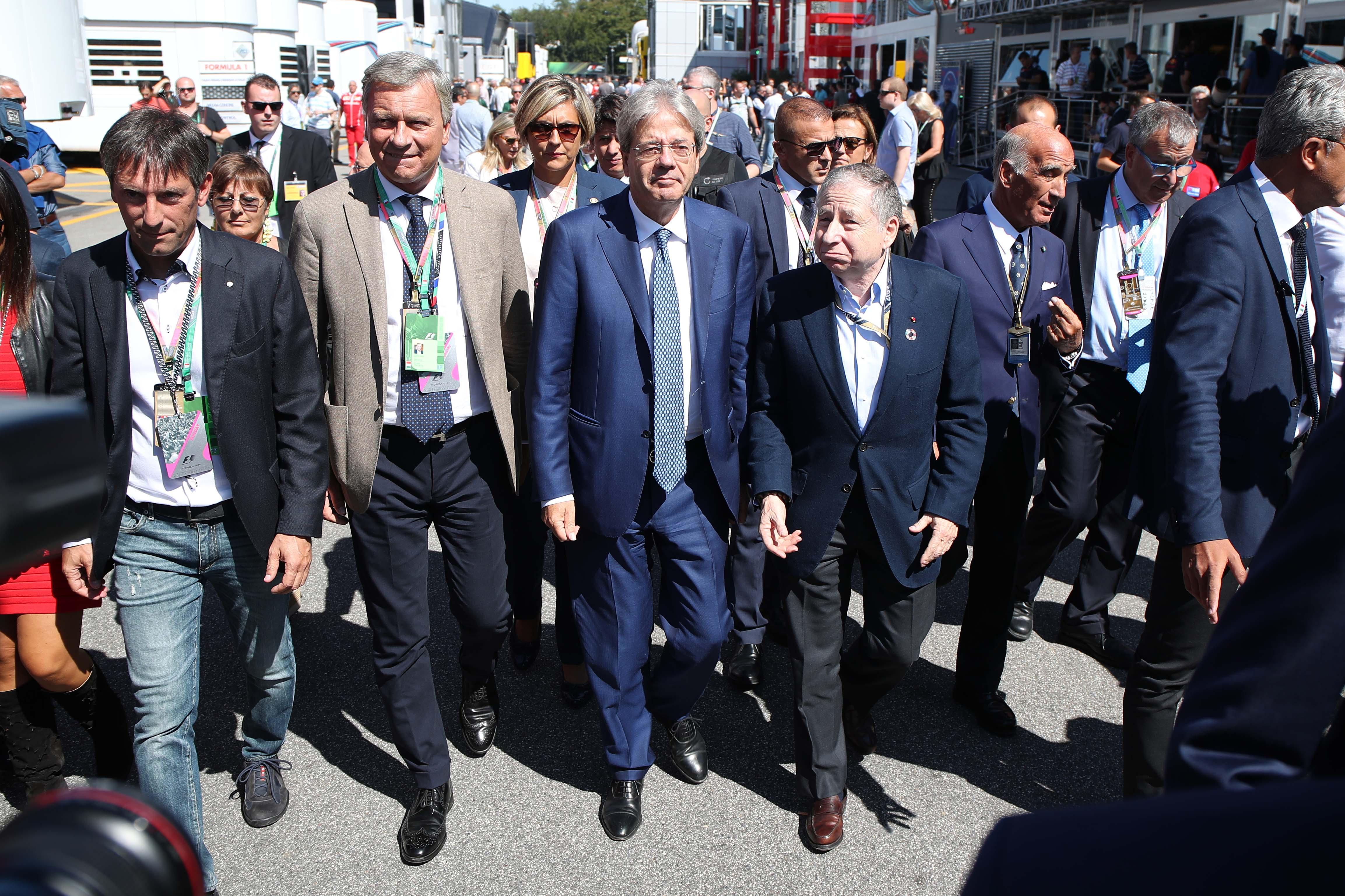 Formula 1, i vip al Gran Premio di Monza