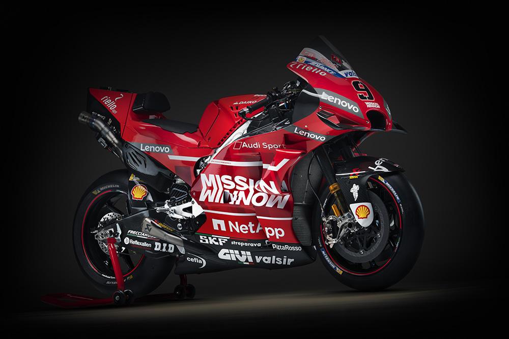 MotoGP, ecco la Ducati per il 2019
