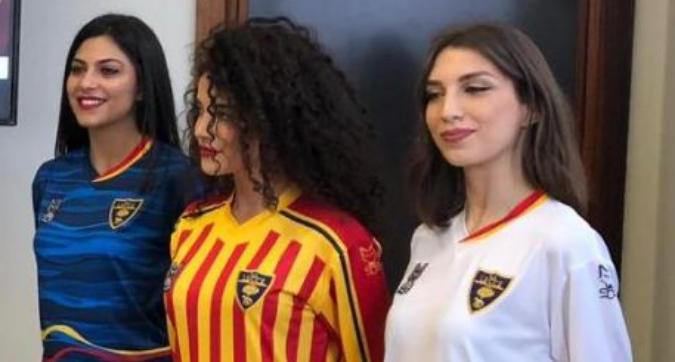 Lecce, le nuove maglie