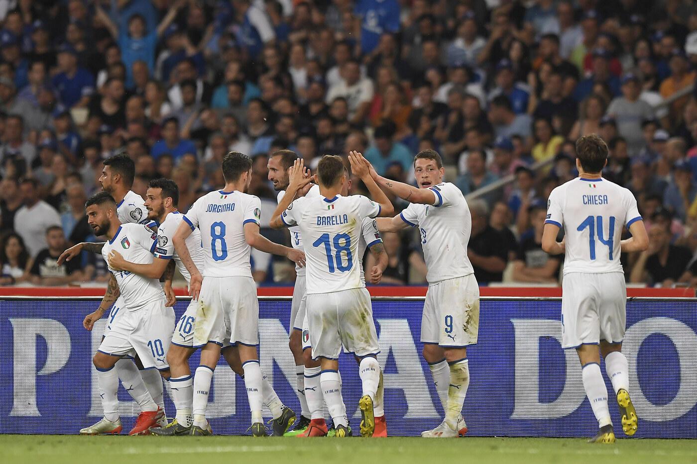Le immagini migliori da Atene dove gli Azzurri hanno trionfato contro gli ellenici