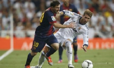 Messi e Ramos (Reuters)