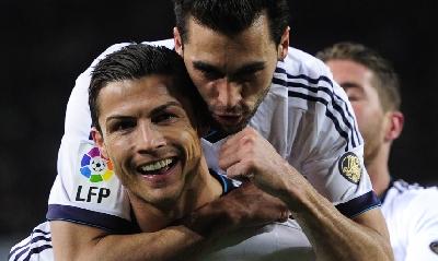 Ronaldo, re di Barcellona, AFP