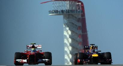 Ferrari vs Red Bull Austin foto Reuters