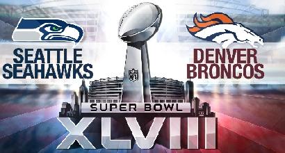 Nfl: Broncos-Seahawks, Superbowl a New York