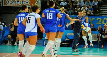 Italvolley, foto AFP