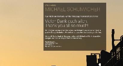 Il sito di Schumacher