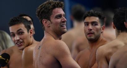 Nuoto, Mondiali: Italia sesta nella staffetta 4x200 sl uomini