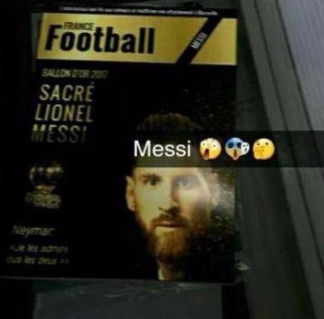 Pallone d'oro 2017 a Messi: spoiler o fake?