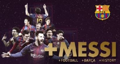 Barcellona: Messi fino al 2021