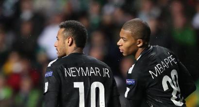 Neymar-Mbappé (LaPresse)