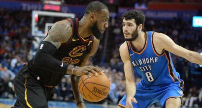 Nba: i Cavs sono rinati, bene Toronto e Houston