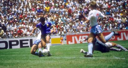 22 giugno 1986 - Inghilterra-Argentina 1-2, troppa grazia Maradona