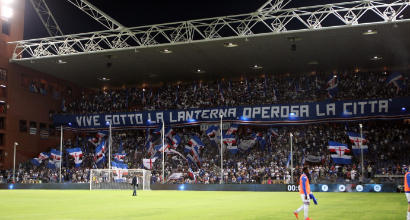 Sampdoria-Fiorentina si recupera il 19 settembre alle 19