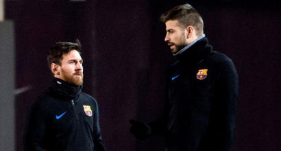 "Barcellona, guai in paradiso: ""Divorzio totale tra Piqué e Messi"""