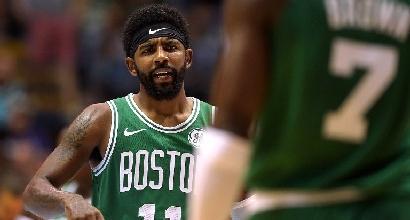 Basket, Nba: Irving e la promessa di fedeltà ai Boston Celtics