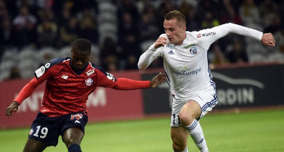 Ligue 1: il Lille non sfonda, finisce 0-0 con lo Strasburgo