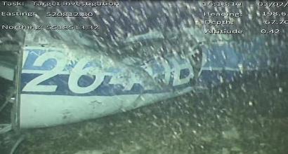 Emiliano Sala, avvistato un corpo nel relitto dell'aereo