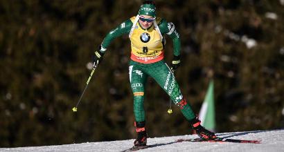 Biathlon: Wierer a un passo dalla storia, intanto vince la Coppetta