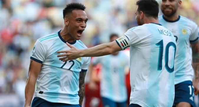Copa America, Venezuela-Argentina 0-2: Lautaro Martinez gol di tacco, sarà semifinale contro il Brasile