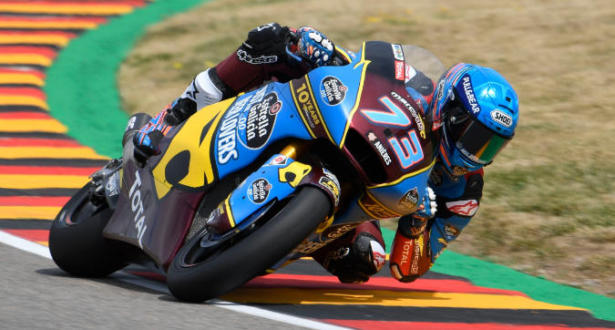 Moto2, Marquez domina in Germania
