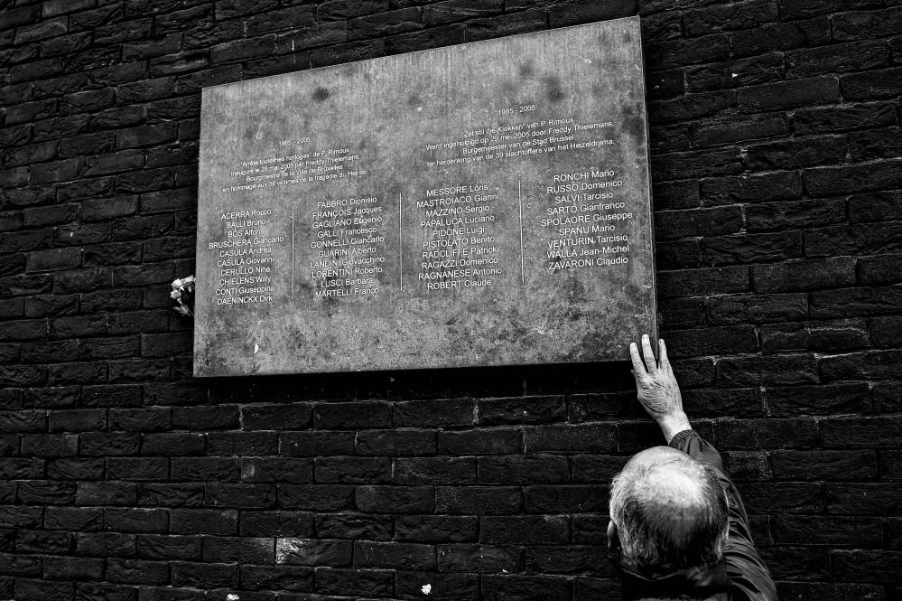 Strage Heysel: la commemorazione a Bruxelles
