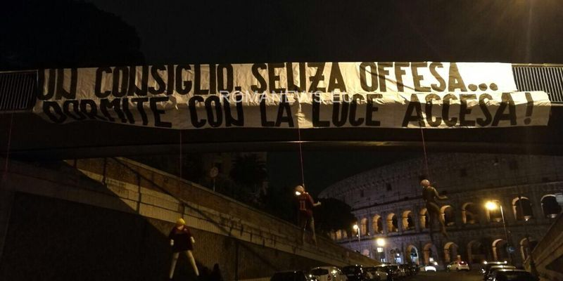 Roma, risveglio shock