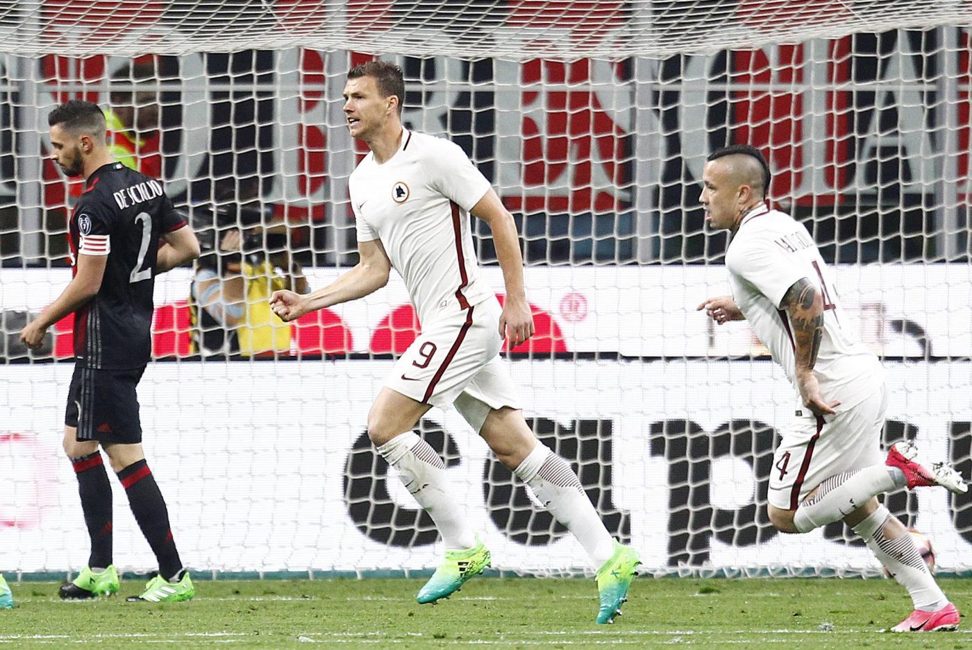 Serie A: Milan-Roma 1-4, un poker che vale il secondo posto