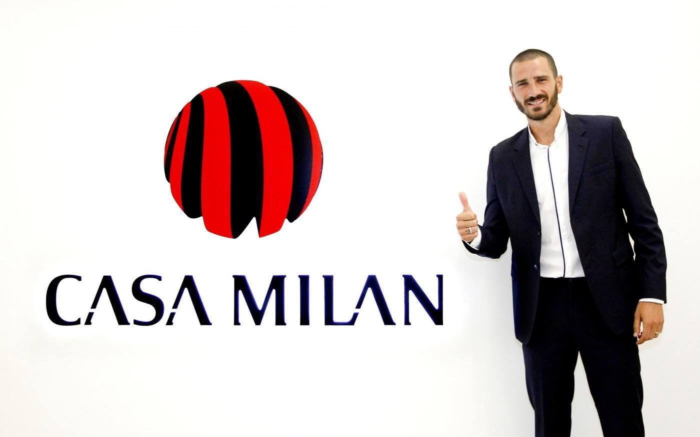 Bonucci a Casa Milan: via alla nuova avventura