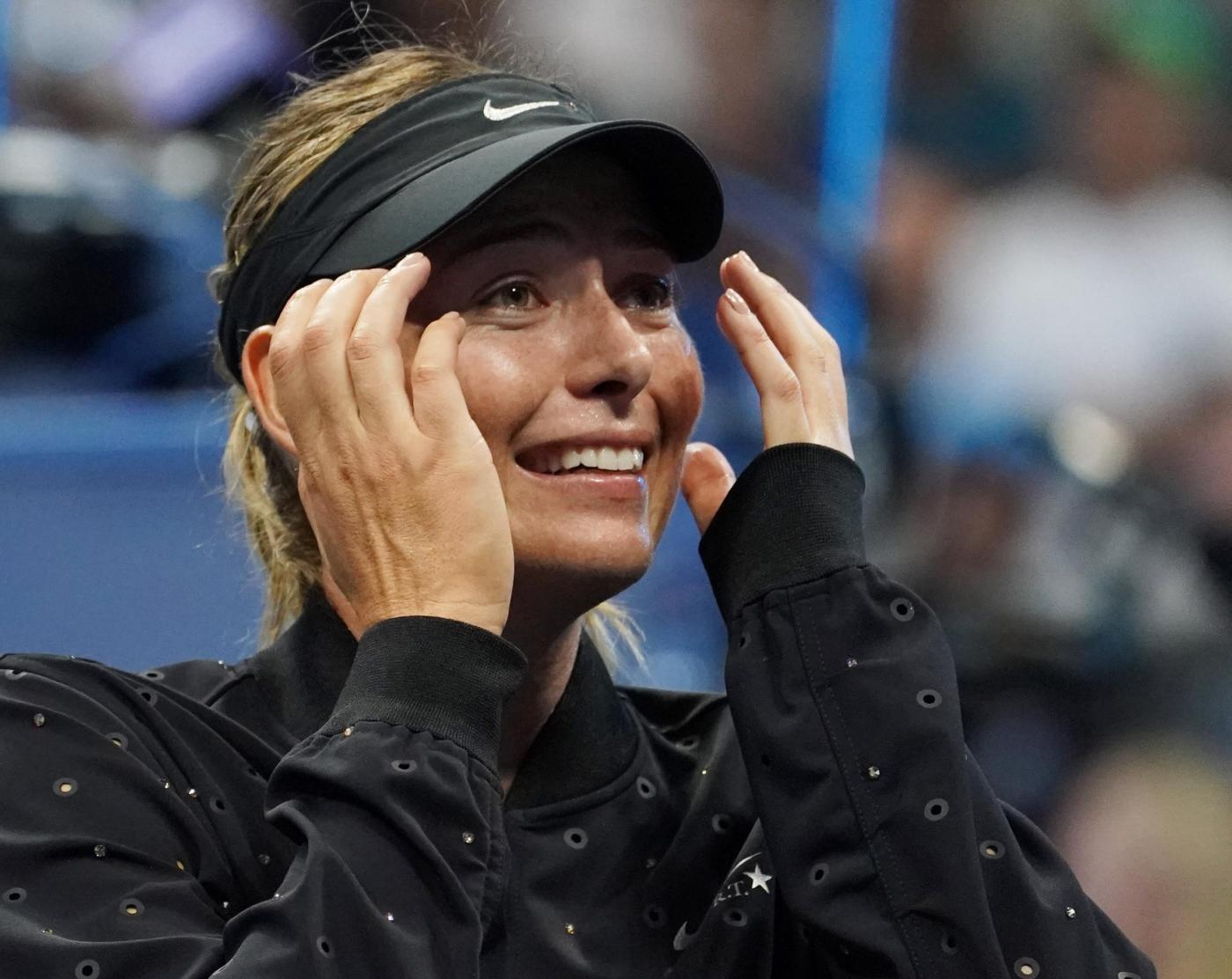 Sharapova, vittoria e lacrime agli Us Open
