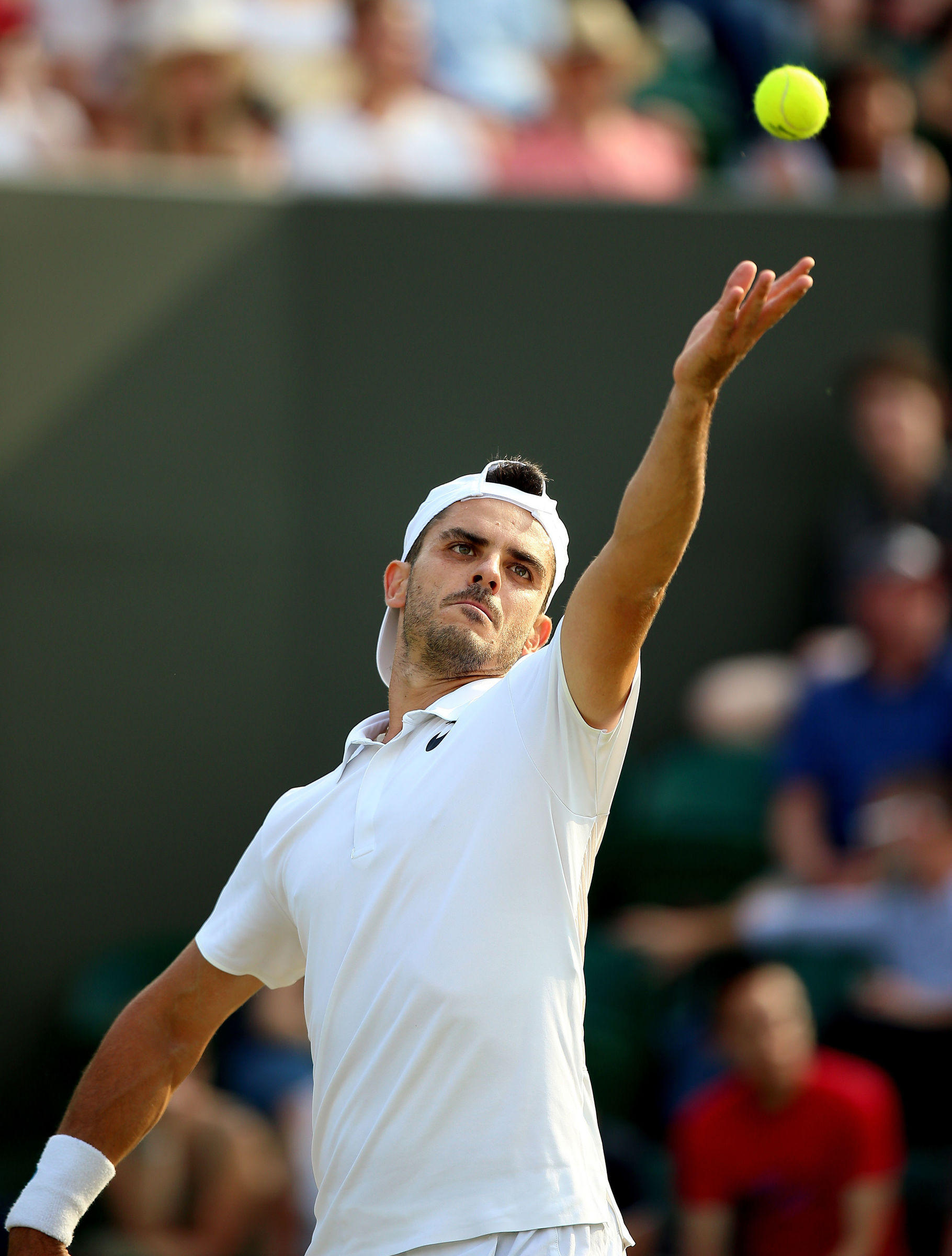 Wimbledon, l'impresa di Fabbiano