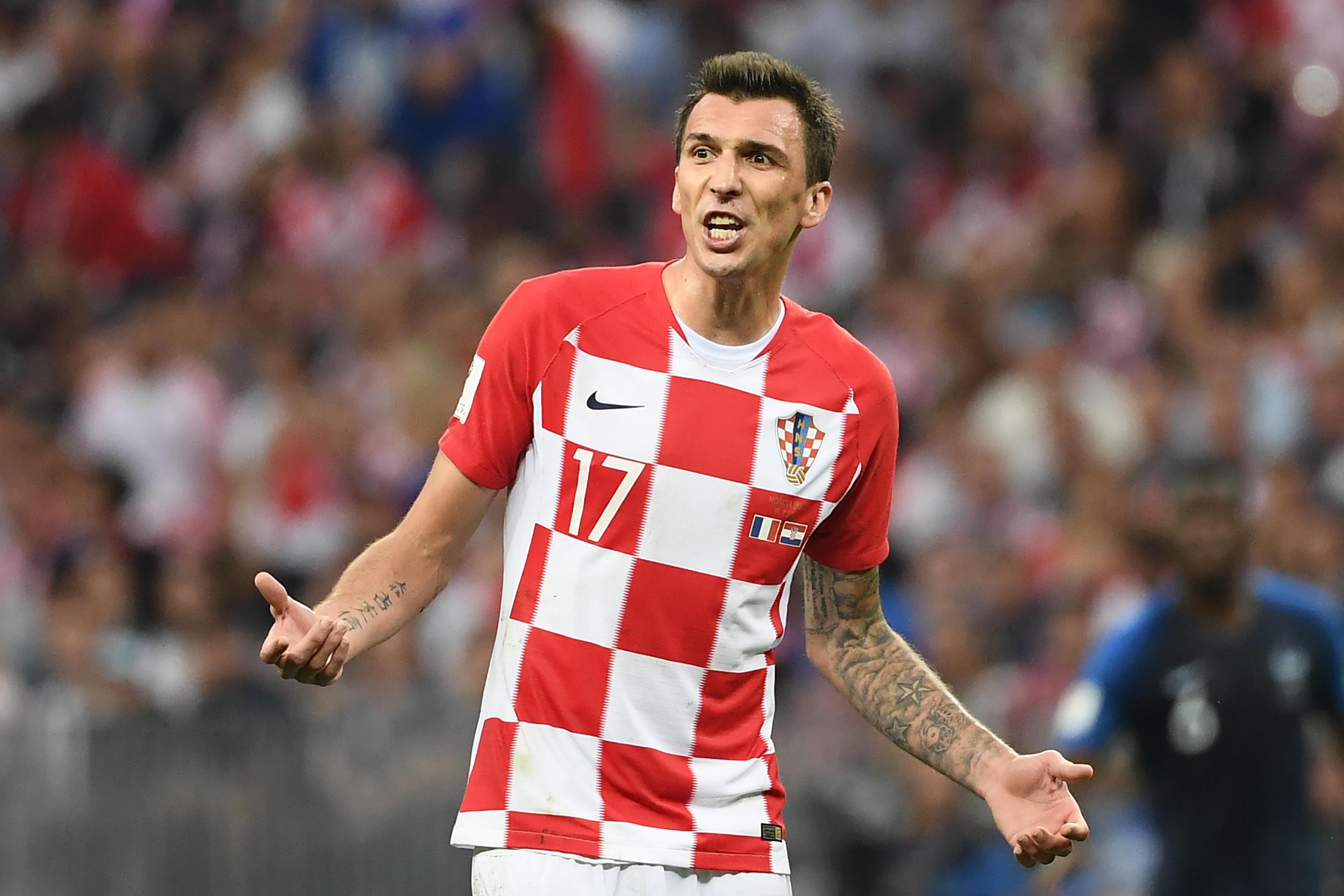 Chiusura in bellezza con la Croazia per Mario Mandzukic che, il 14 agosto, dice addio alla nazionale dopo il secondo posto ottenuto al Mondiale.