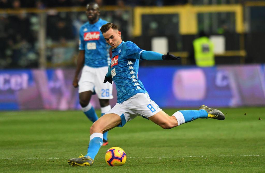 49) Fabian Ruiz (Napoli): un dribbling ogni 41.8 minuti, percentuale di realizzazione del 73%