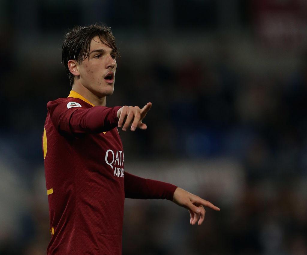 Nicolò Zaniolo, centrocampista della Roma: sogno di tanti, i giallorossi cercheranno di fargli rinnovare il contratto per trattenerlo